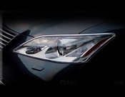 Lexus ES  Headlight Chrome Trim Finisher Set 2007-2011
