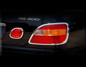 Lexus GS Taillight Chrome Trim Finisher Set 1998-2005