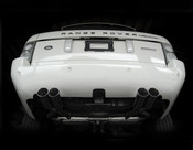 Range Rover Supercharged Performance Quad Exhaust Kit 2006-2009