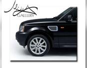 Range Rover Sport Fender Mesh Grilles 2006-2009 (Black or Chrome)