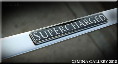 High Line Supercharged Metal Emblem