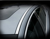 Jaguar XF & XFR Bright Stainless Roof Finishers