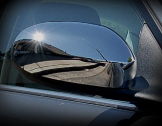 Jaguar XK & XKR Chrome Mirror Cover Finishers