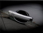 Jaguar XK & XKR Chrome Door Handle Overlay Finishers