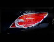 Mercedes R-Class Headlight Chrome Trim Finisher set 2006-2010