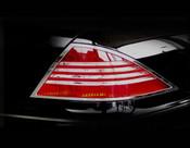 Mercedes S-Class Taillight  Chrome Trim Finisher set  2000-2006