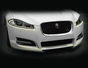 Jaguar XF Sport XF-S Carbon Fiber Front Apron Kit