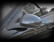 Jaguar X-Type Real Carbon Fiber Mirror Cover Finisher 2002-2007