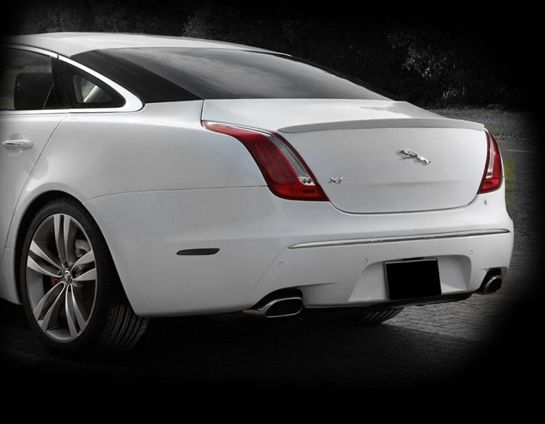 Jaguar Xj Speed Style Sport Rear Spoiler Upgrade Mina Gallery Inc