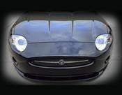 Jaguar XK Carbon Fiber Front Apron Upgrade 2007-2009