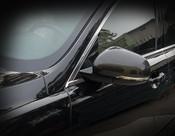Jaguar XK / XKR / XKR-S Real Carbon Fiber Mirror Cover Finishers