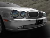 Jaguar XJ8 & XJR Upper and Lower Mesh Grille PKG 2004-2007