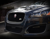 Jaguar XF & XFR All Black Grille Replacement (2012-2015 models)