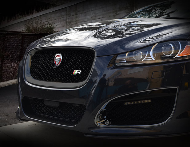 Jaguar Xf Xfr All Black Grille Replacement 2012 2015 Models