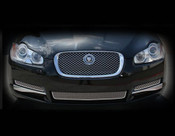 Jaguar XF Lower Mesh Grille 5 pcs Kit (07-2011)