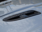 Jaguar XFR Carbon Fiber Hood Louvers