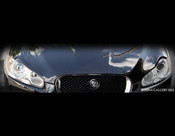 Jaguar XF & XFR Carbon Fiber Headlight Lids (2007-2011 models)