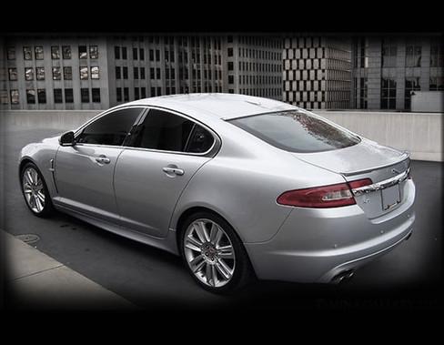 Jaguar XF & XFR Custom Roof Spoiler