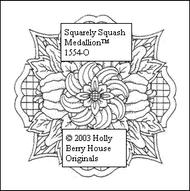 Squarely Squash Medallion