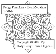 Pudgy Pumpkins Medallion