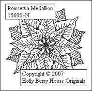 Poinsettia Medallion