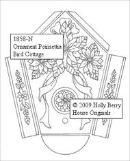 Poinsettia Bird Cottage