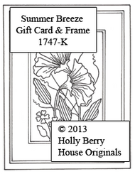 Summer Breeze Gift Card & Frame