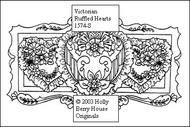 Victorian Ruffled Hearts