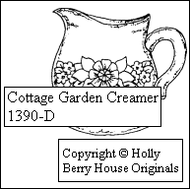 Cottage Garden Creamer