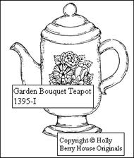 Garden Bouquet Teapot