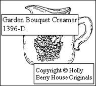 Garden Bouquet Creamer