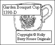 Garden Bouquet Cup
