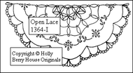 Tea Towel - Open Lace