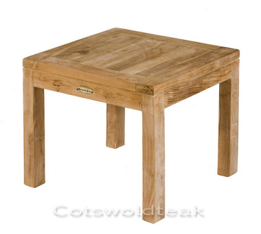 Cotswold Teak Burford 45cm x 45cm coffee table.