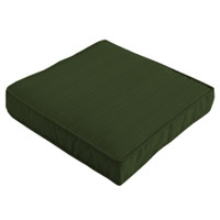 Cotswold Teak small seat pads available in green or blue. 43cm x 42cm.