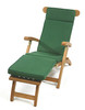 Cotswold Teak Steamer Cushion available in green.