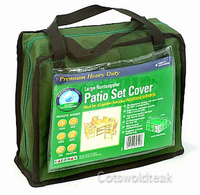 Gardman large rectangular patio set cover.