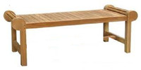 Cotswold Teak cam coffee table.