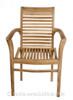 Tingewick Teak garden Stacking chair.