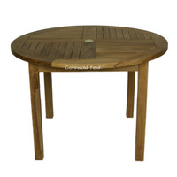 Rental Rates for the Churn 110cm Diameter Round Table From £21.25 / Week