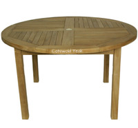 Rental Rates for the Churn 130cm Diameter Round Table From £22.95 / Week