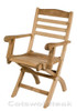 Wenlock Folding Arm Chair