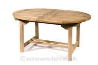 Avon Oval Extending 130cm to 180cm table