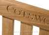 You can add carving to the top rail if required.