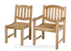 There is a matching side chair, ideal for making dining sets.