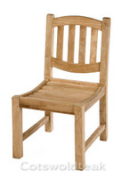 Cotswold Teak malvern side chair. Very solid, built the same as the benches.