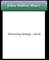Advertising Strategy (John Walter Starr) - eBook