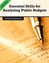 Essential Skills for Analyzing Public Budgets (Arwiphawee Srithongrung) - eBook