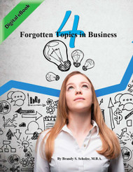 4 Forgotten Topics in Business (Brandy Scholze) - eBook
