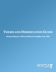 Thesis and Dissertation Guide (Donna Schnorr and Sherri Franklin-Guy) - eBook